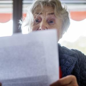 Ilse Ruck liest (Foto: Robert Söllner)